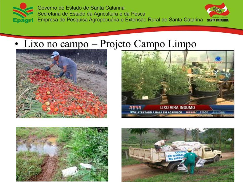 Lixo no campo – Projeto Campo Limpo