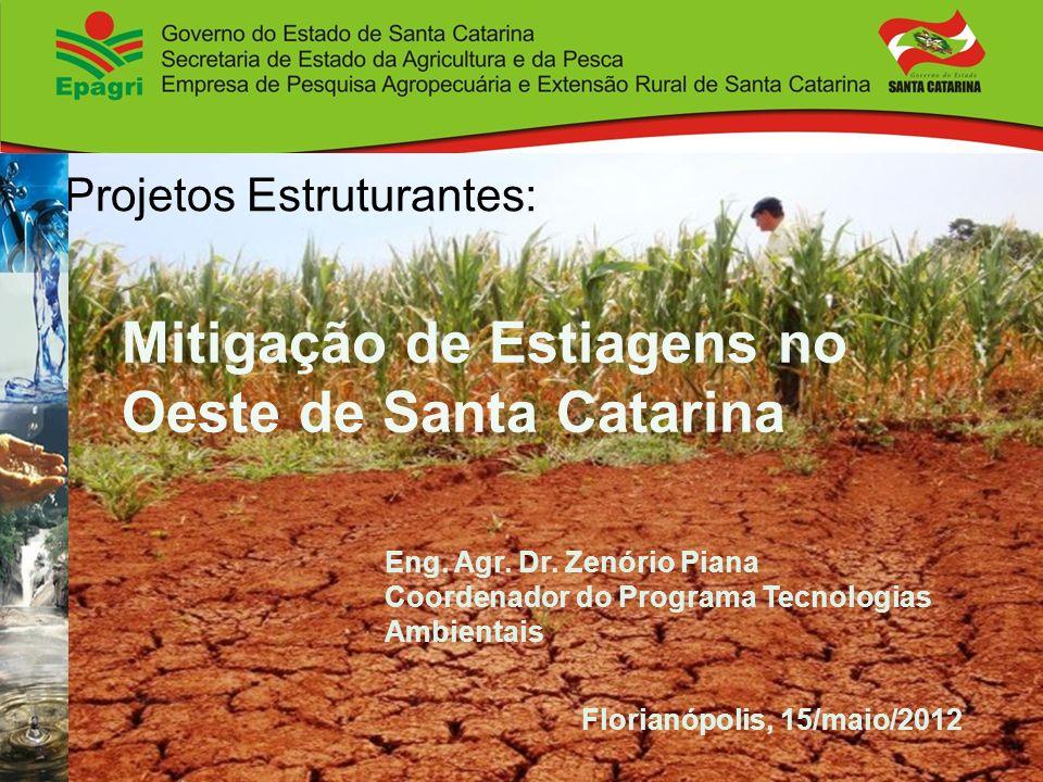 Mitigação de Estiagens no Oeste de Santa Catarina
