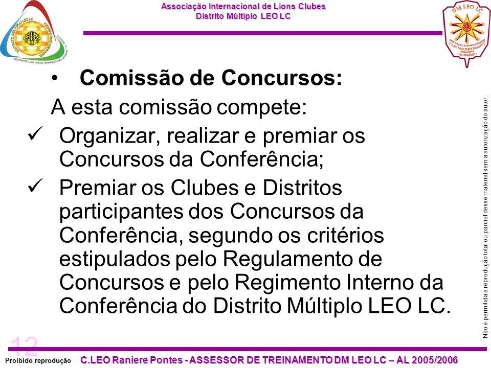 Comissão de Concursos: