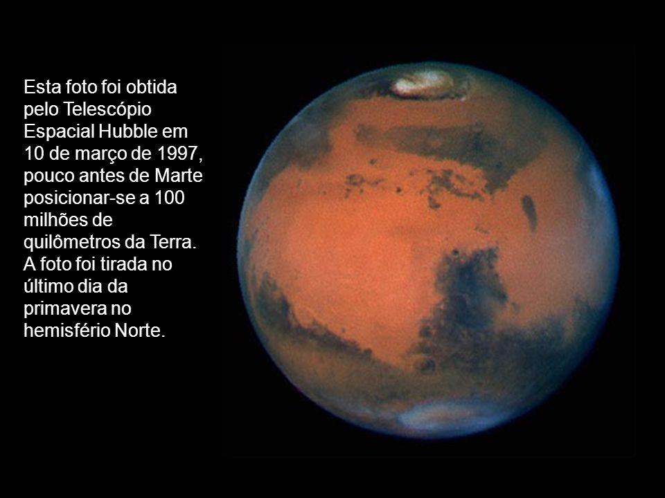 Esta foto foi obtida pelo Telescópio Espacial Hubble em 10 de março de 1997,