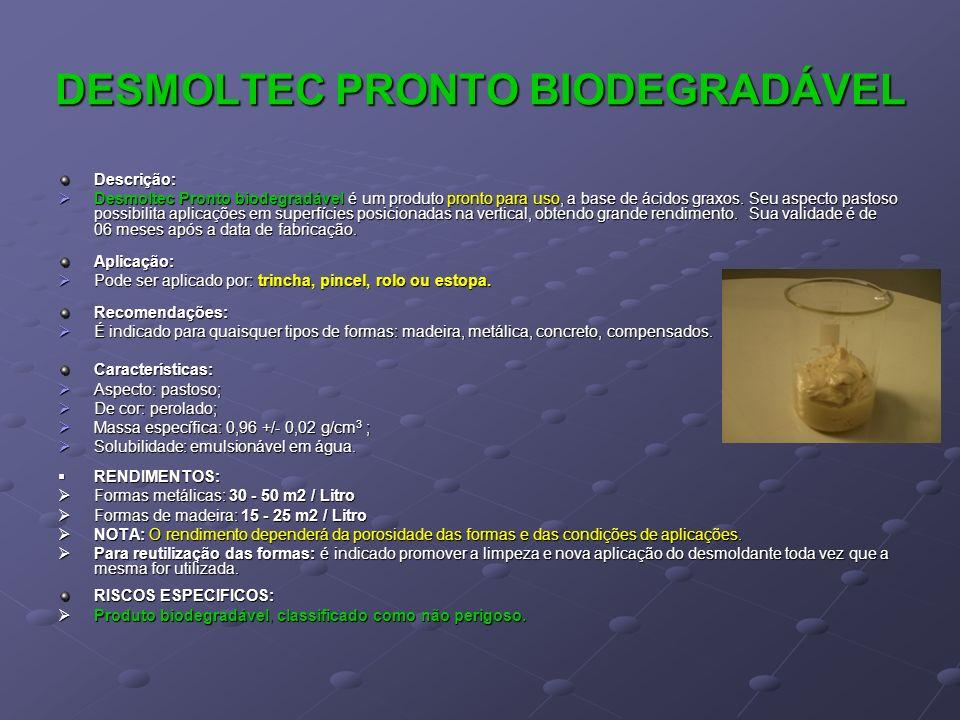 DESMOLTEC PRONTO BIODEGRADÁVEL