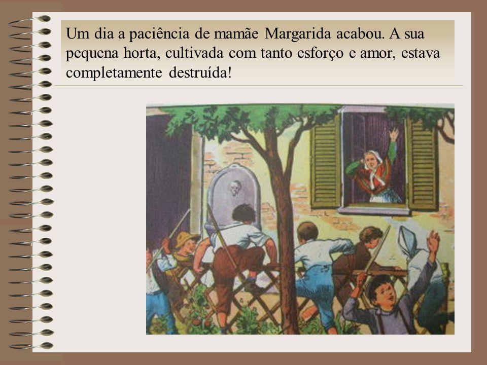 Um dia a paciência de mamãe Margarida acabou