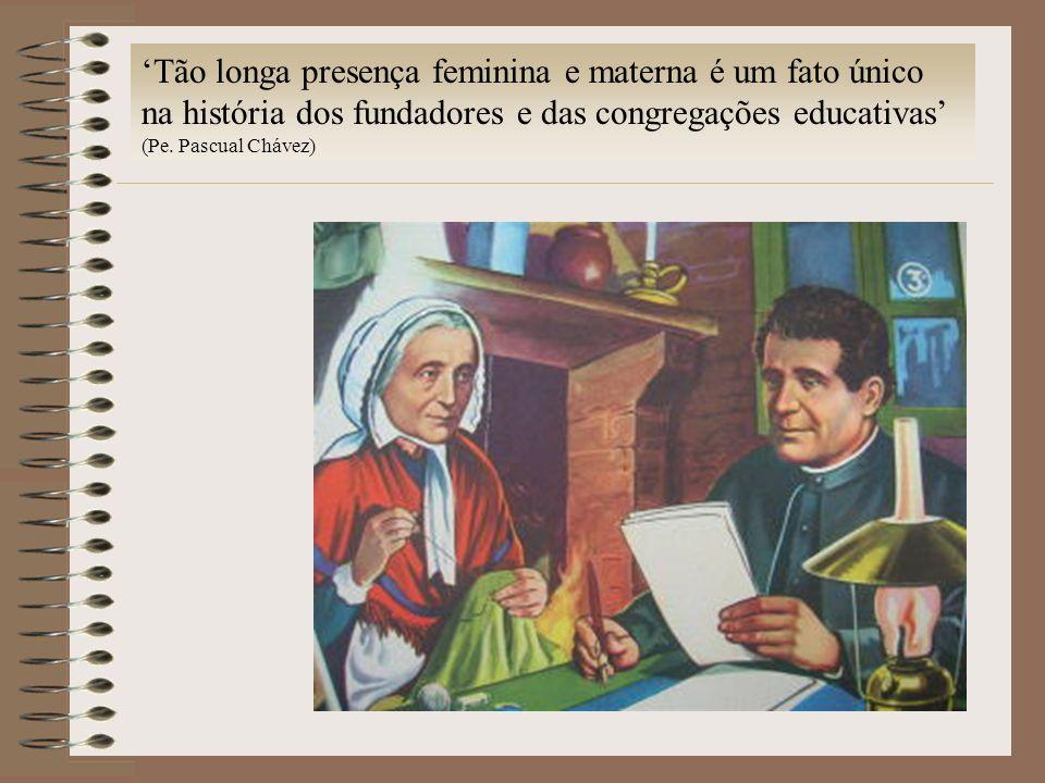 'Tão longa presença feminina e materna é um fato único na história dos fundadores e das congregações educativas'
