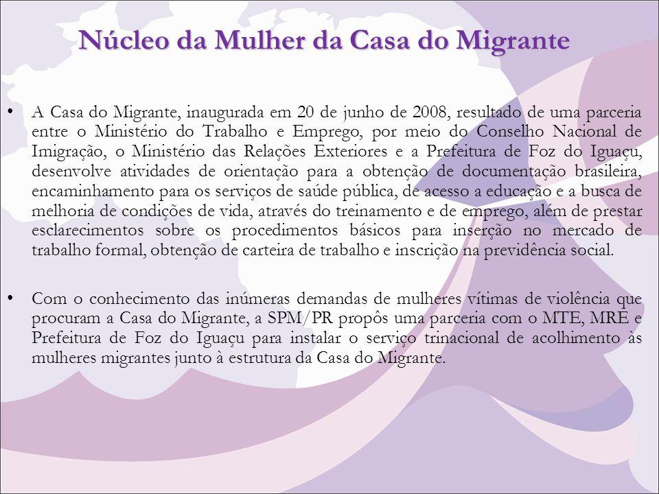 Núcleo da Mulher da Casa do Migrante