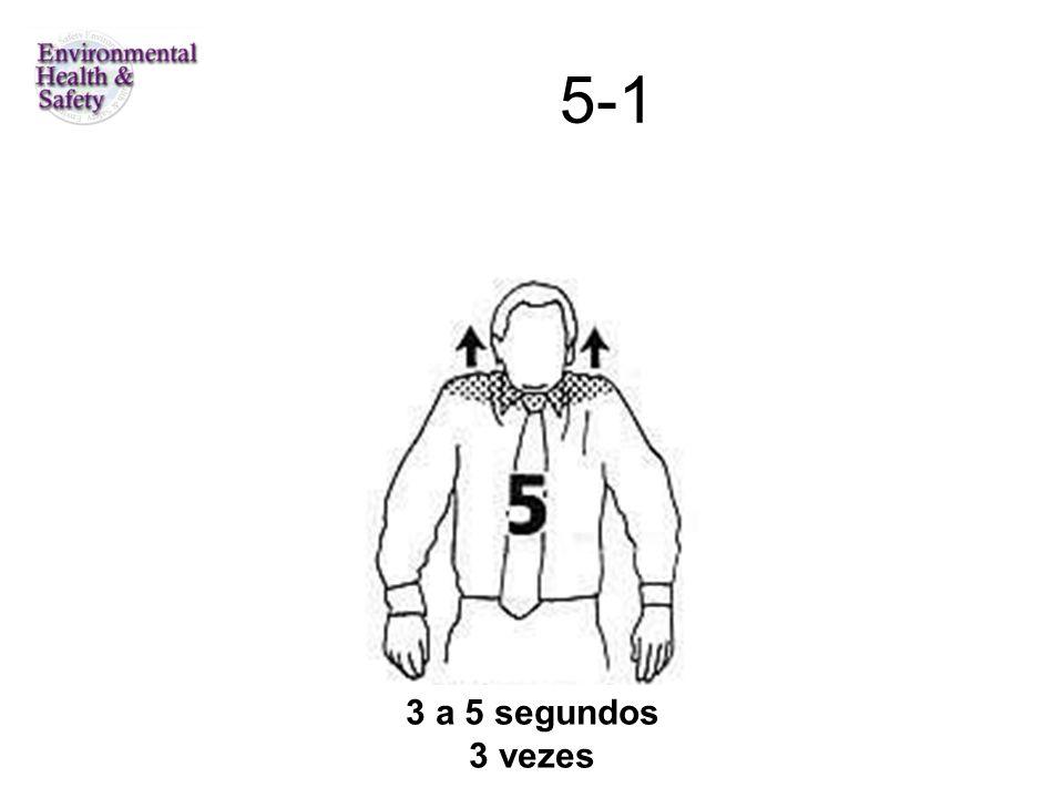 5-1 3 a 5 segundos 3 vezes