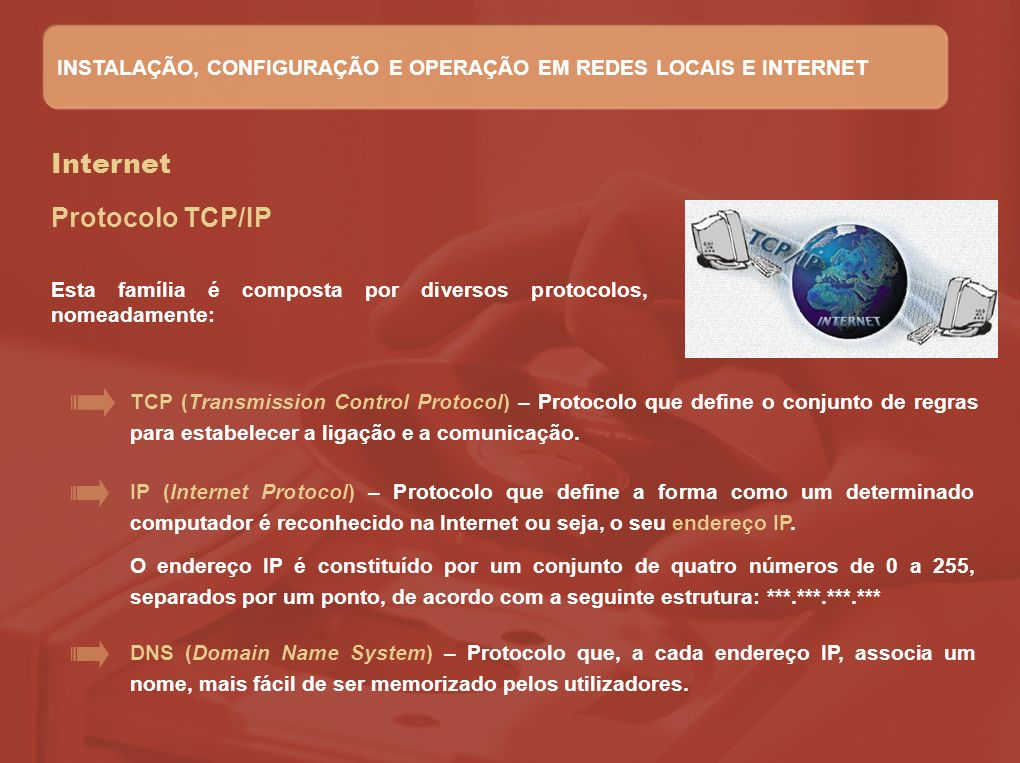 Internet Protocolo TCP/IP