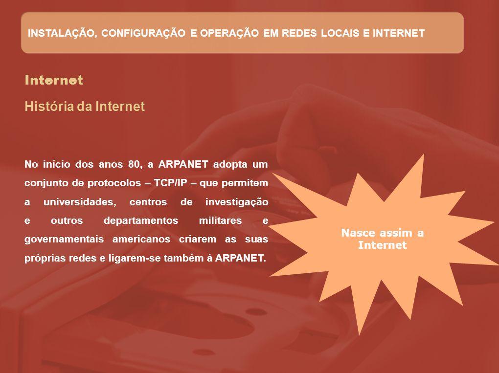 Internet História da Internet