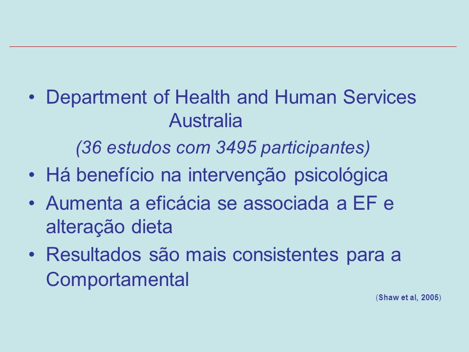 Department of Health and Human Services Australia