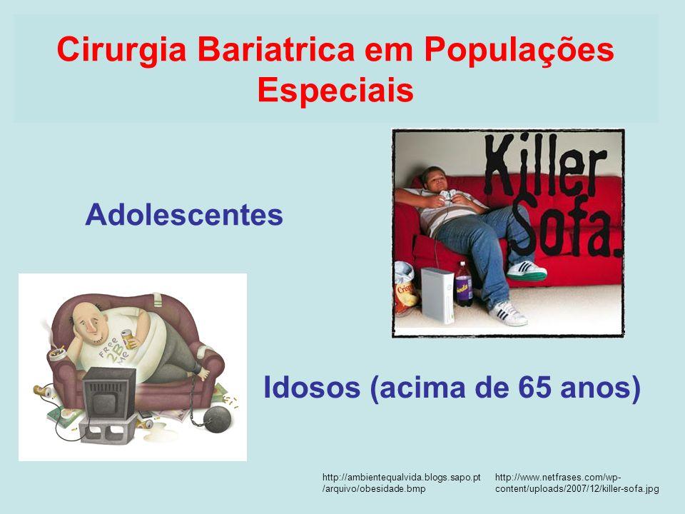 Cirurgia Bariatrica em Populações Especiais