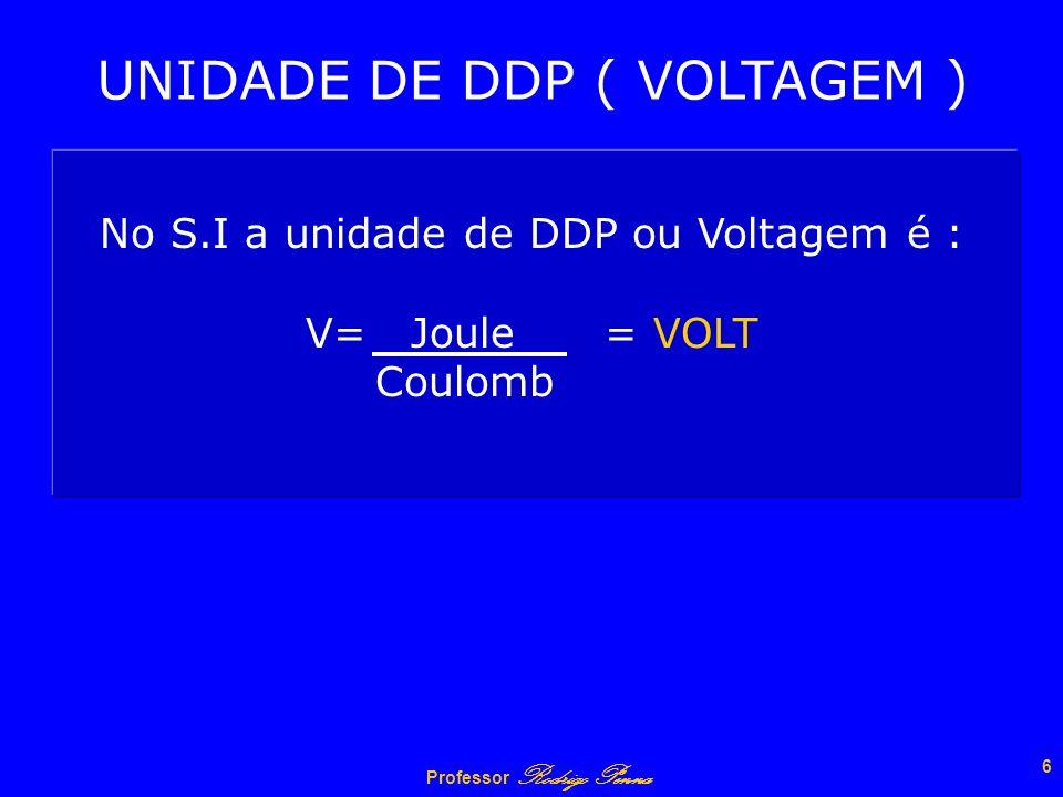 UNIDADE DE DDP ( VOLTAGEM )