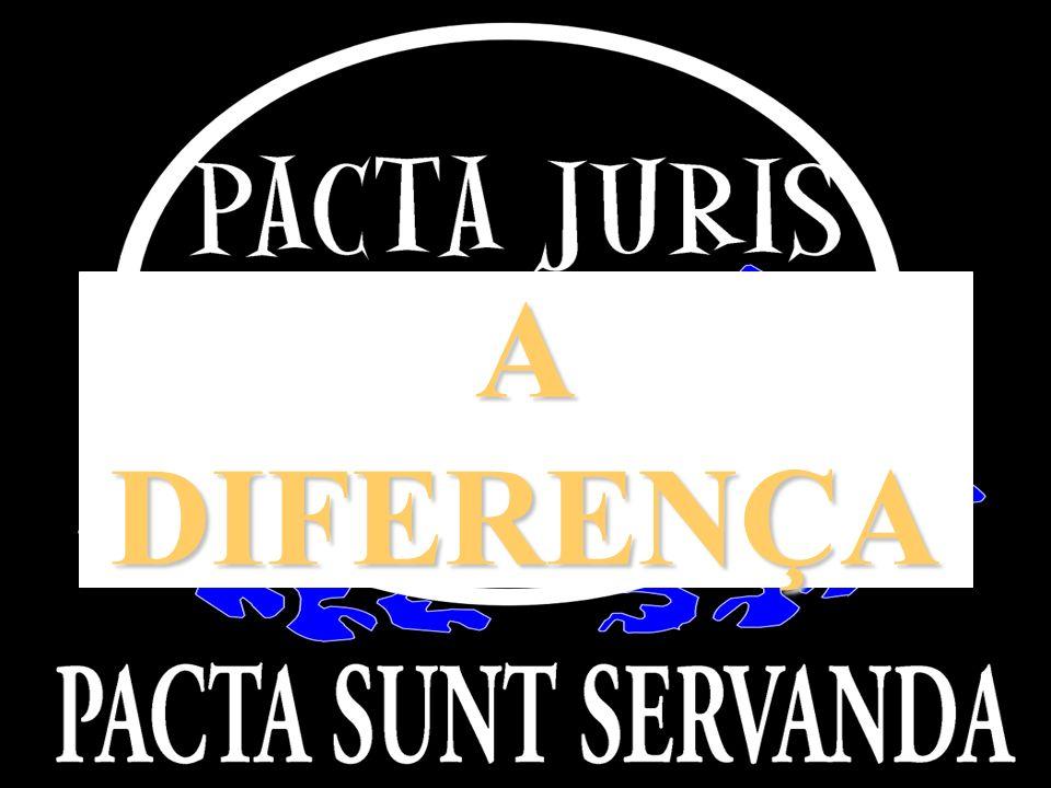 A DIFERENÇA APRESENTAÇÃO INSTITUCIONAL PACTA JURIS