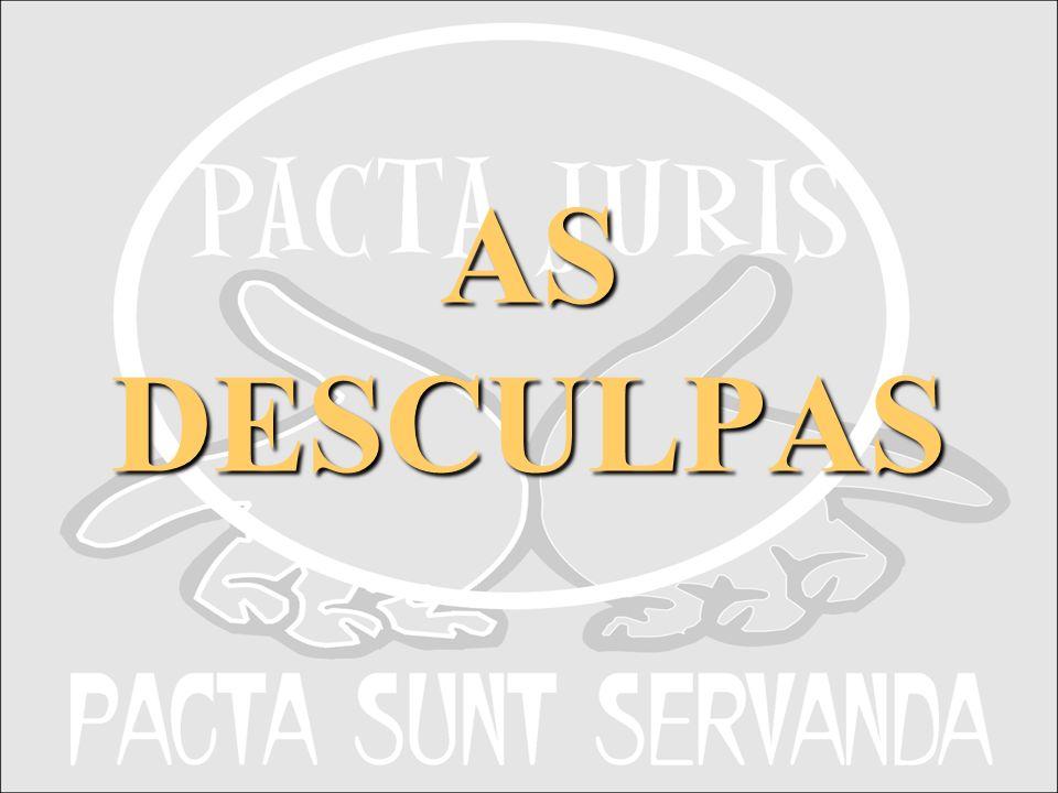 AS DESCULPAS APRESENTAÇÃO INSTITUCIONAL PACTA JURIS