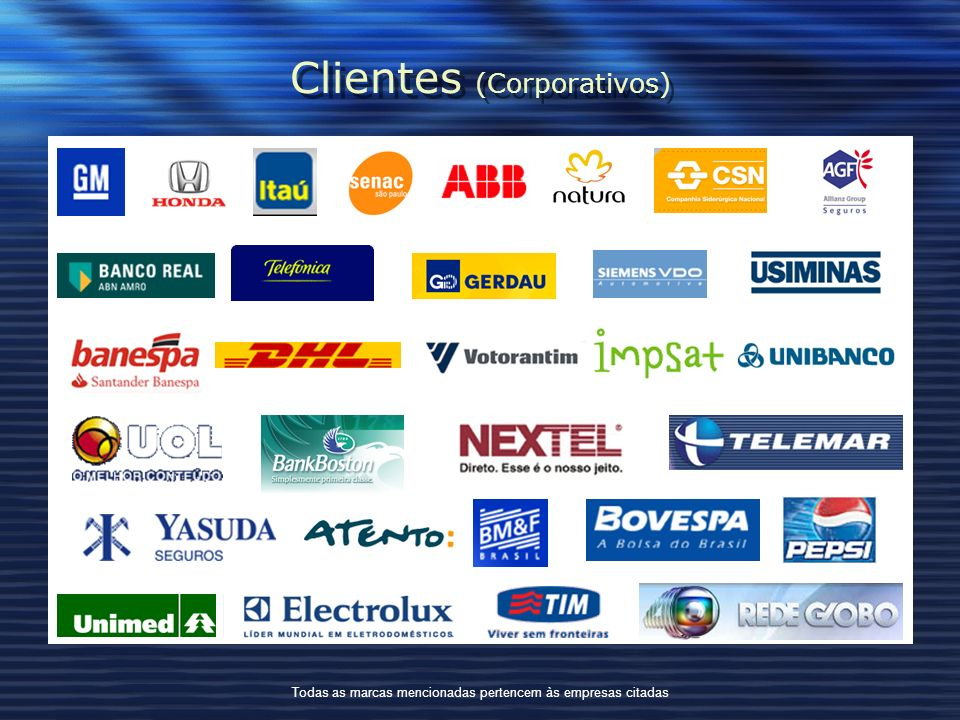 Clientes (Corporativos)