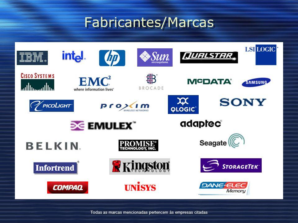 Todas as marcas mencionadas pertencem às empresas citadas
