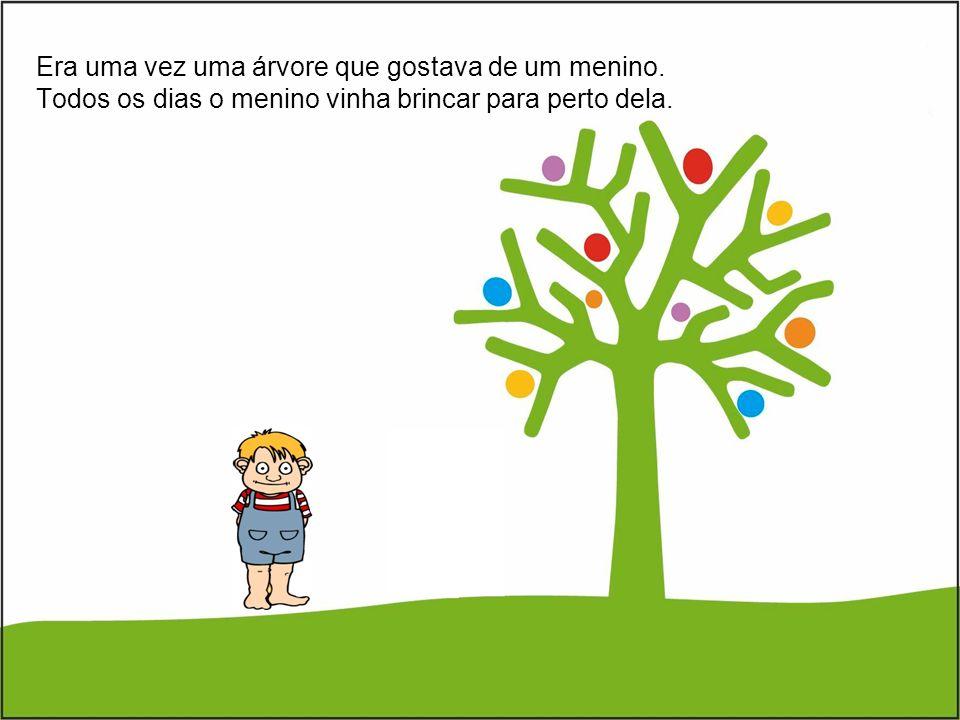 Era uma vez uma árvore que gostava de um menino