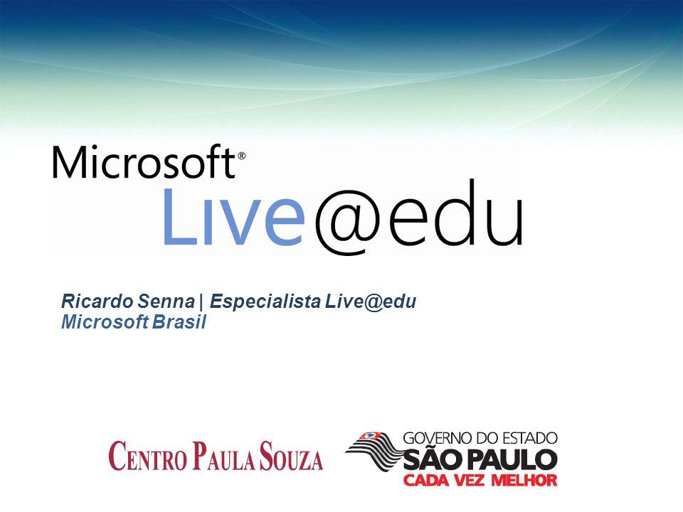 Ricardo Senna | Especialista Live@edu