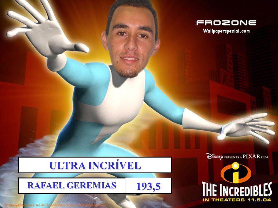 ULTRA INCRÍVEL RAFAEL GEREMIAS 193,5