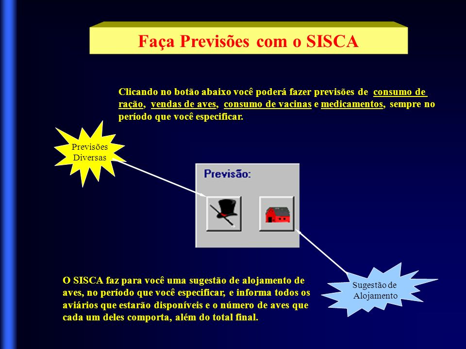 Faça Previsões com o SISCA