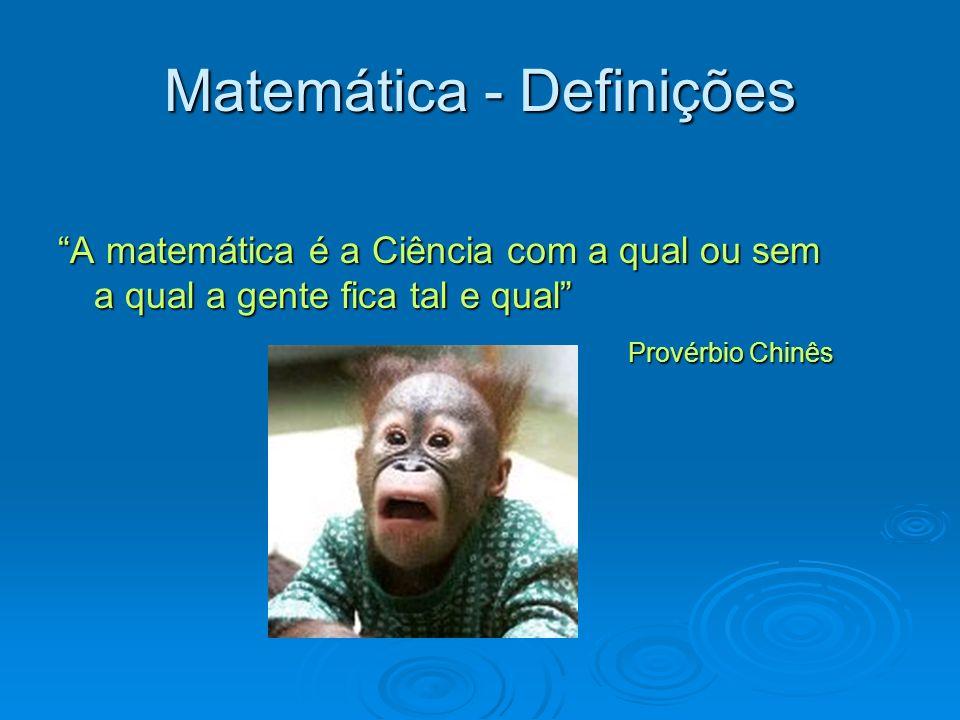 Matemática - Definições