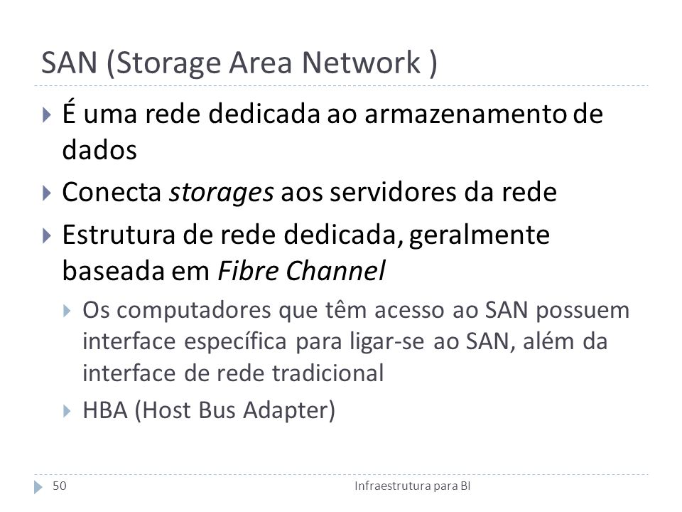 SAN (Storage Area Network )