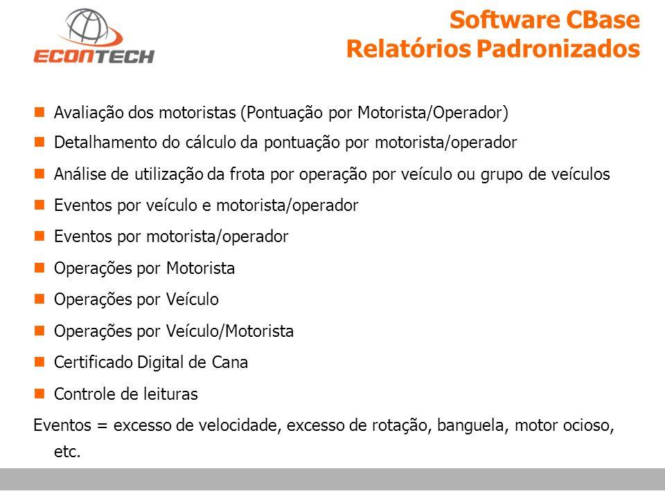 Software CBase Relatórios Padronizados