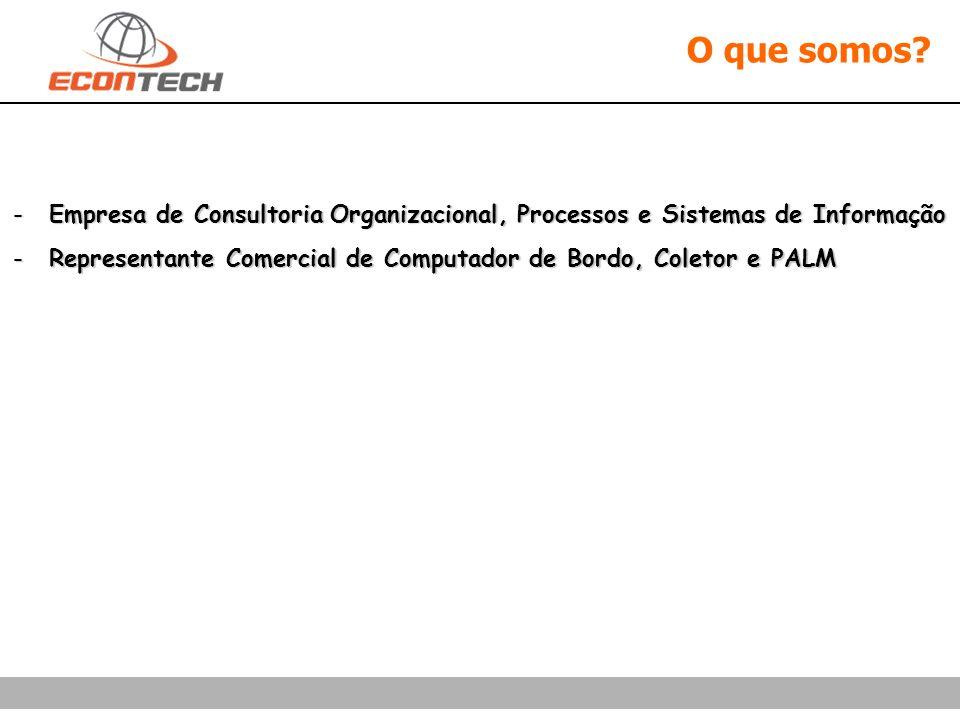 O que somos Empresa de Consultoria Organizacional, Processos e Sistemas de Informação.