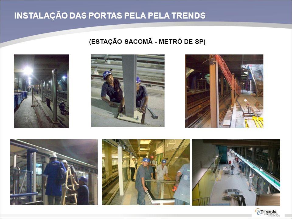 INSTALAÇÃO DAS PORTAS PELA PELA TRENDS
