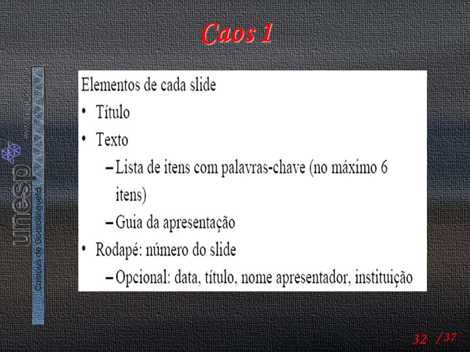 Caos 1