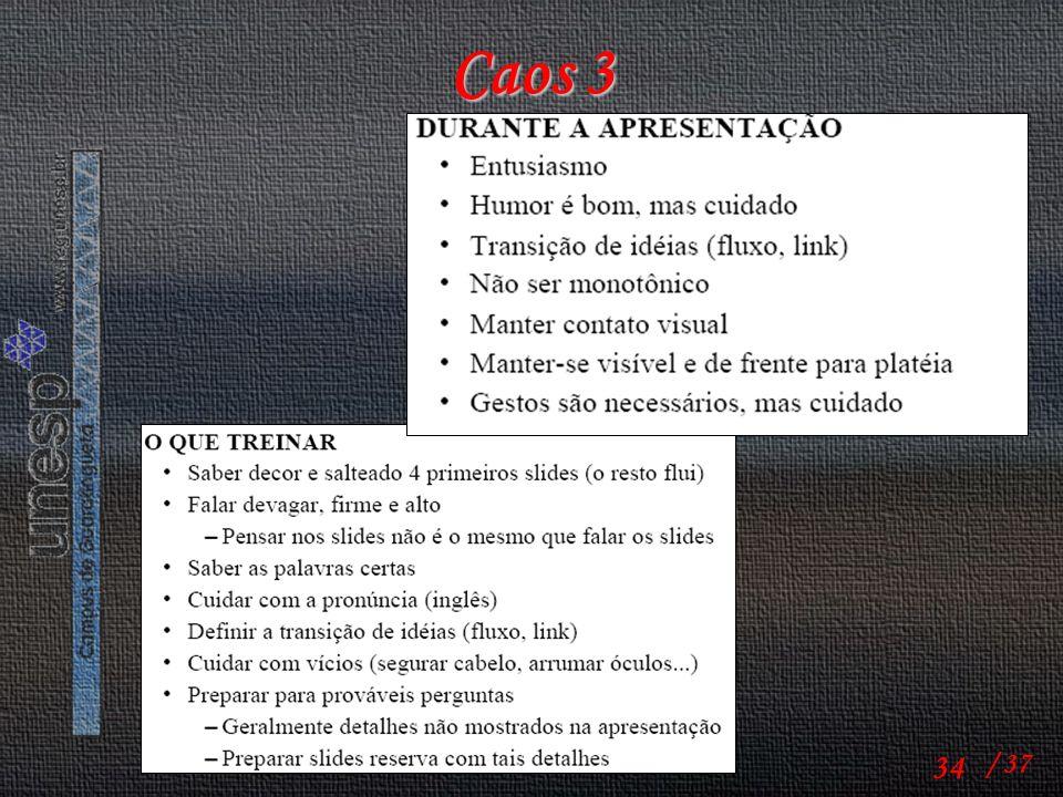 Caos 3