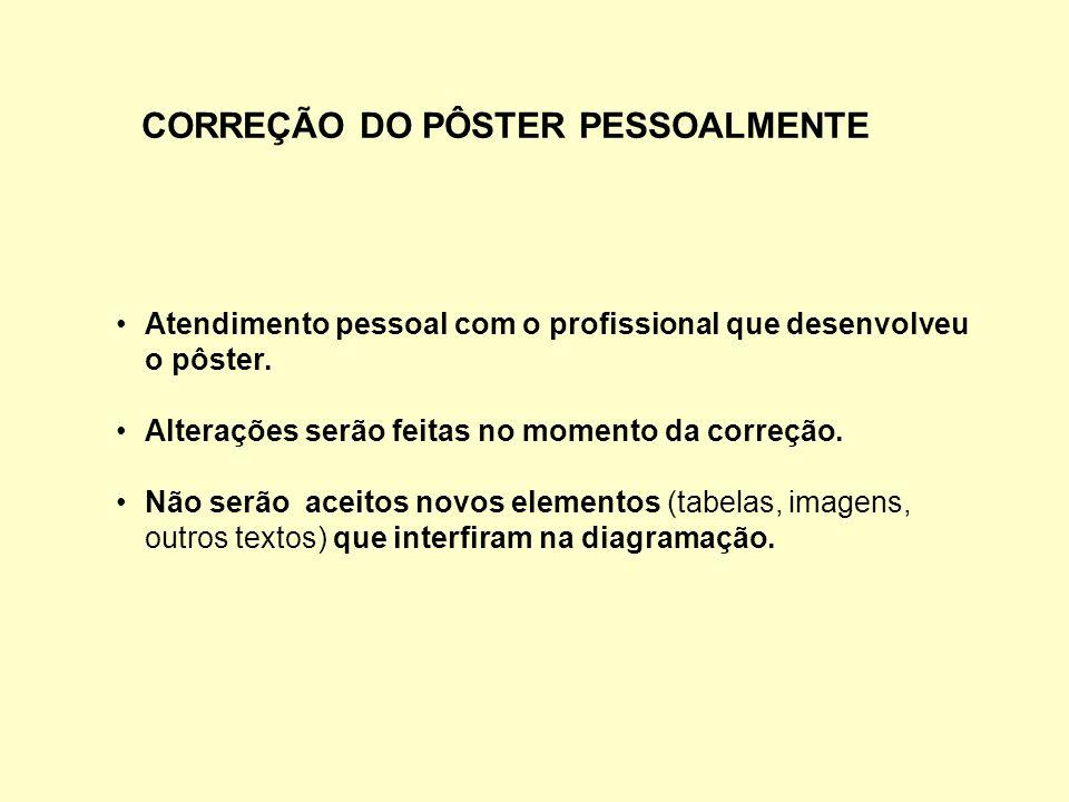 CORREÇÃO DO PÔSTER PESSOALMENTE