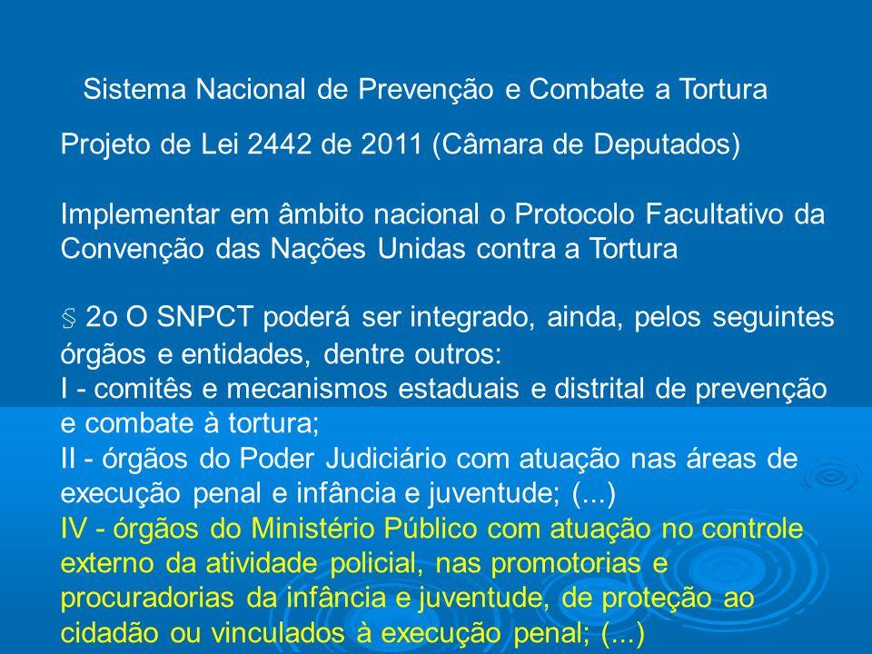 Sistema Nacional de Prevenção e Combate a Tortura