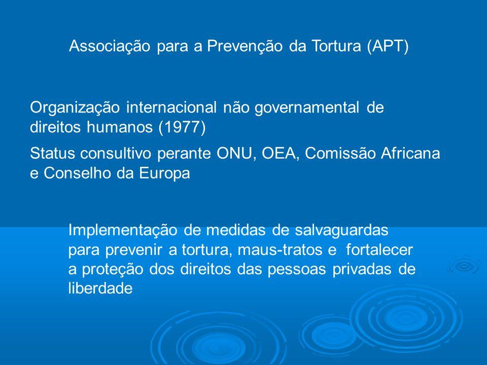 Associação para a Prevenção da Tortura (APT)