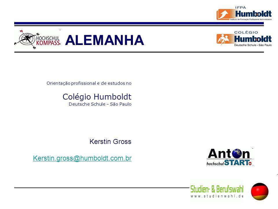 ALEMANHA Colégio Humboldt Kerstin Gross Kerstin.gross@humboldt.com.br