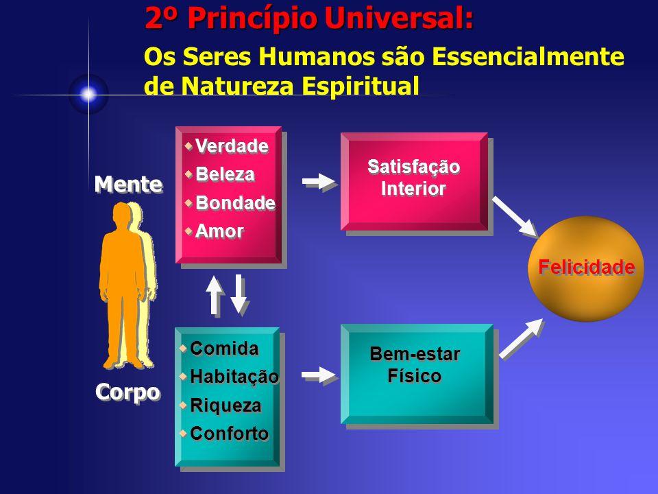 2º Princípio Universal: