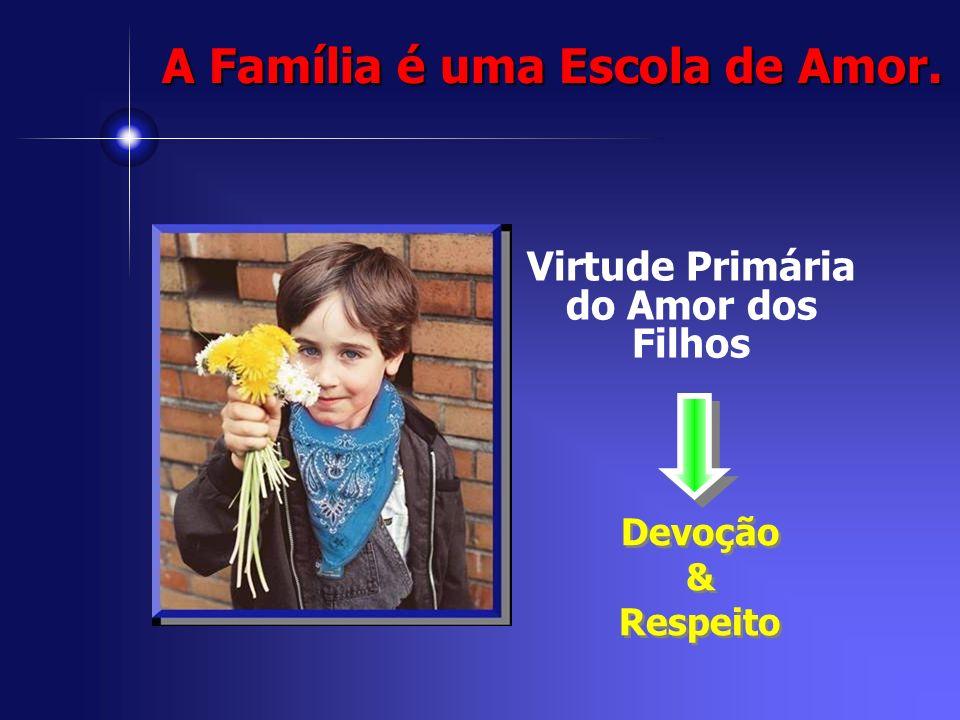 Virtude Primária do Amor dos Filhos