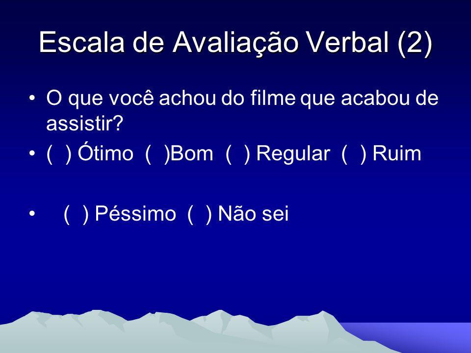 Escala de Avaliação Verbal (2)