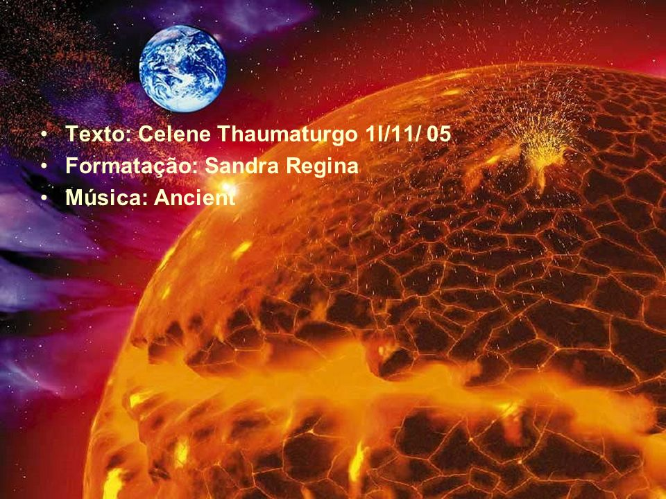 Texto: Celene Thaumaturgo 1l/11/ 05