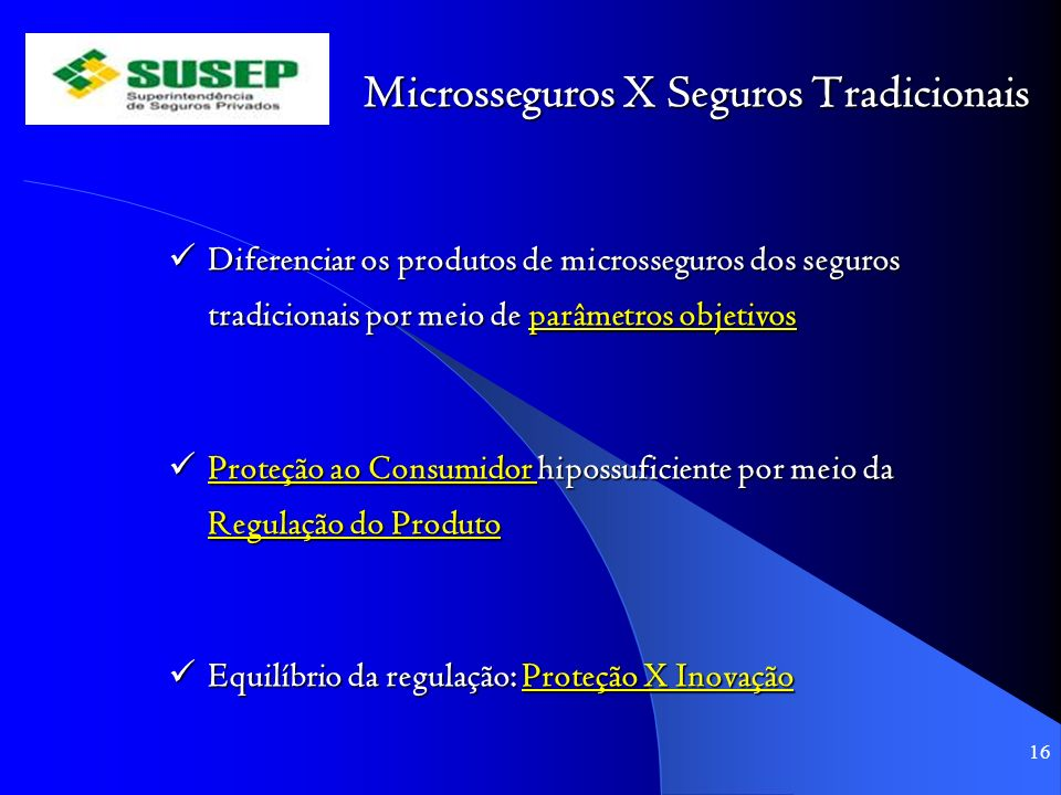 Microsseguros X Seguros Tradicionais