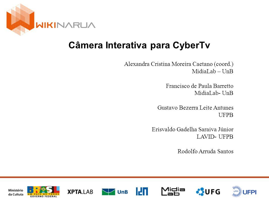 Câmera Interativa para CyberTv