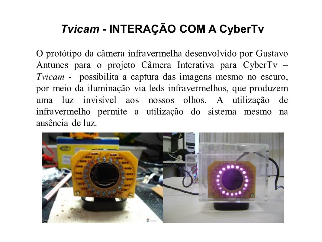 Tvicam - INTERAÇÃO COM A CyberTv