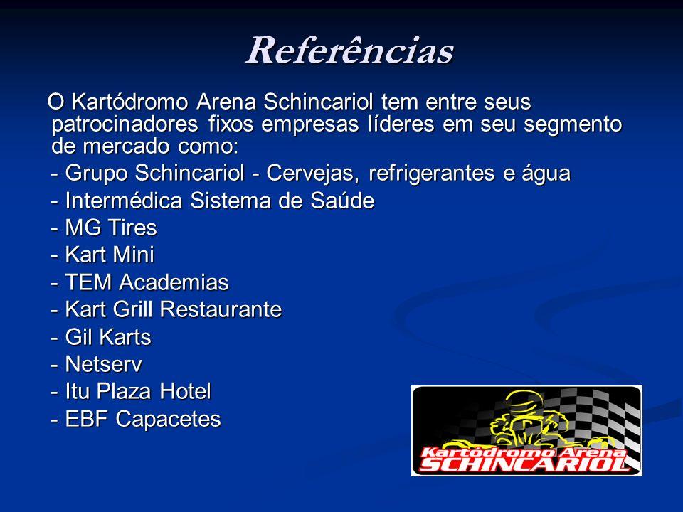 Referências - Grupo Schincariol - Cervejas, refrigerantes e água