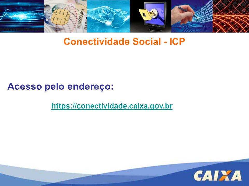 Conectividade Social - ICP