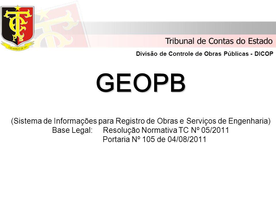 Divisão de Controle de Obras Públicas - DICOP