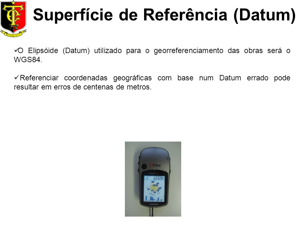 Superfície de Referência (Datum)