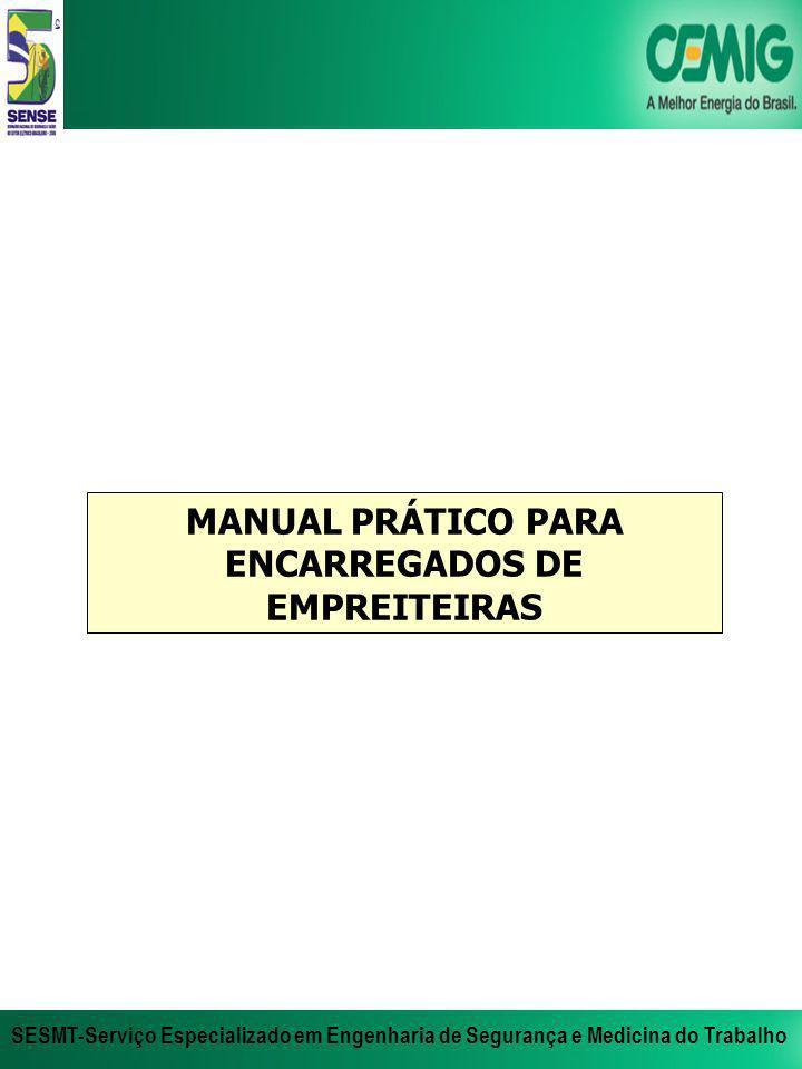 MANUAL PRÁTICO PARA ENCARREGADOS DE EMPREITEIRAS