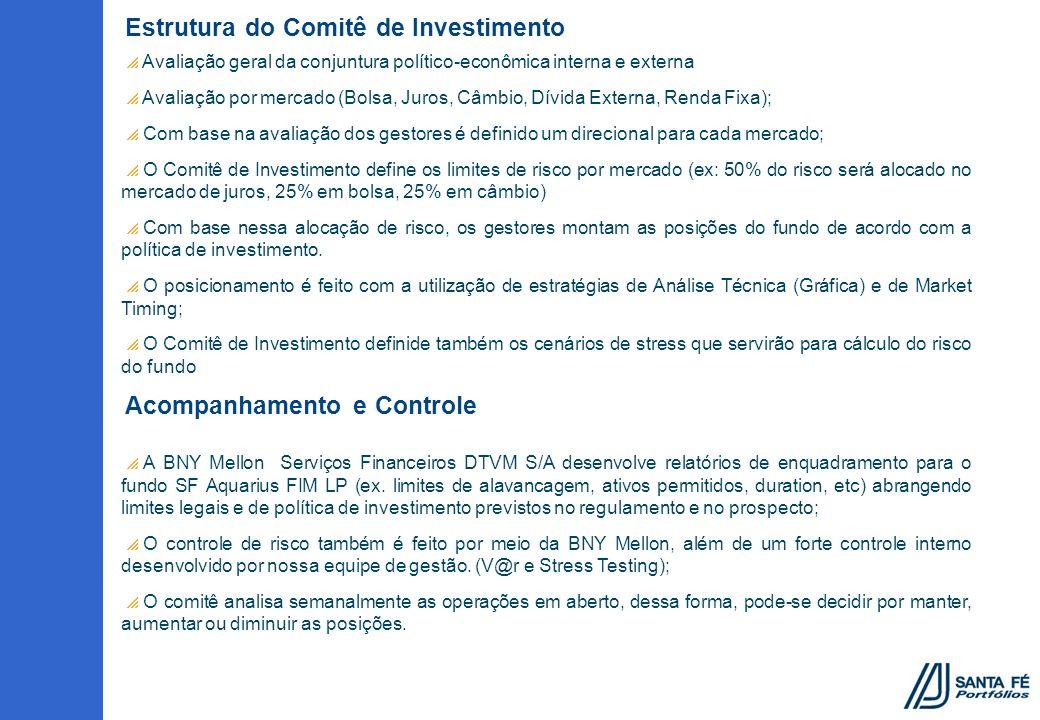 Estrutura do Comitê de Investimento