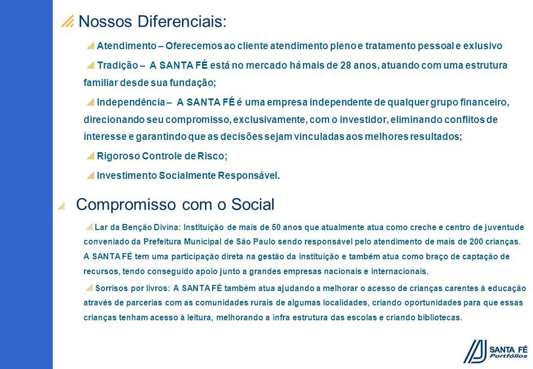 Nossos Diferenciais: Atendimento – Oferecemos ao cliente atendimento pleno e tratamento pessoal e exlusivo.