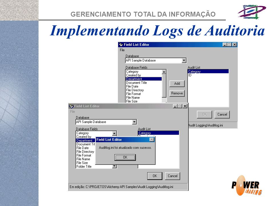 Implementando Logs de Auditoria