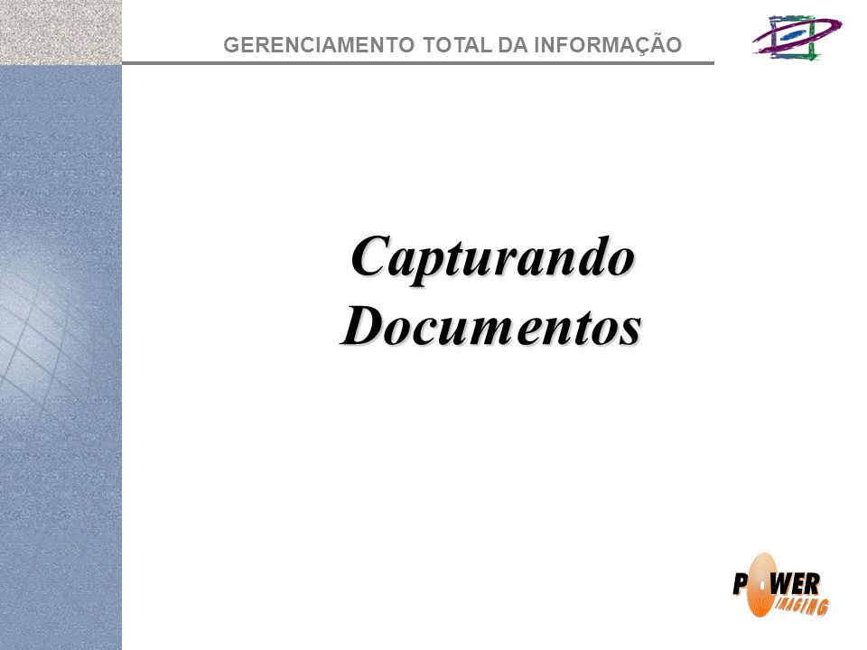 Capturando Documentos