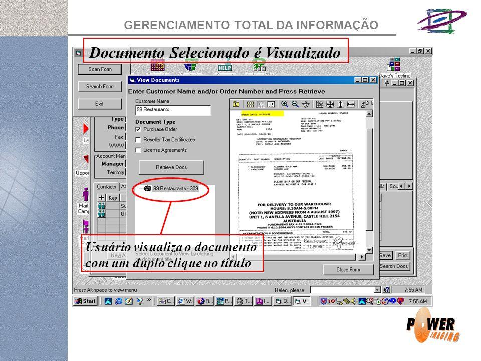 Documento Selecionado é Visualizado